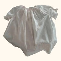 Toddler or Doll Dress With Smocking