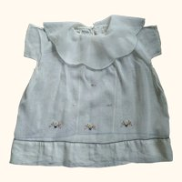 Doll/Child Dress With Embroidery