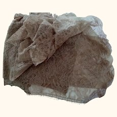 Brown Lace Material