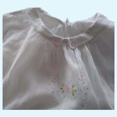 Toddler/Doll Coat and Dress As Is
