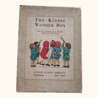 "Clara Burd Book Set ""The Kiddie Wonder Box"""