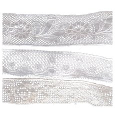 Three Different Lengths of Lace