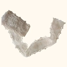 Early Tambour Lace Length
