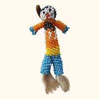 Little Beaded Indian Doll