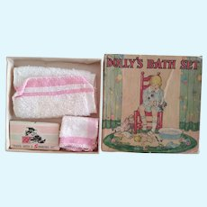 Dolly'S Bath Set