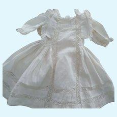 Fancy White Doll Dress