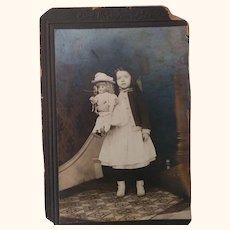 Edwardian Girl With Her Simon Halbig  Large Doll