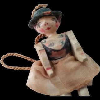 Tiny Grodnertal Doll