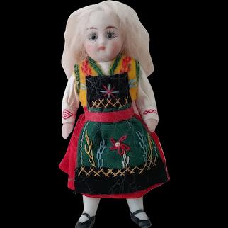 Original All Bisque Little Girl