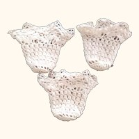 Three Little Crocheted Baskets