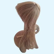 Long Brown Human Hair Wig