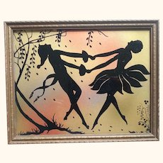 Art Deco  Print of Dancers