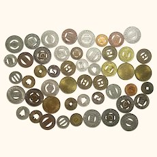 Assortment of Old Tokens