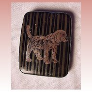Cigarette Holder With Dog Design