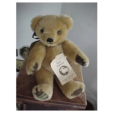 Vintage Harrod's Mohair Merrythought  Bear