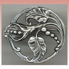 Large Sterling Pin