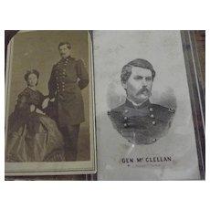 General Mc Cellan CDV