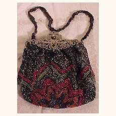 Pretty Beaded Bag