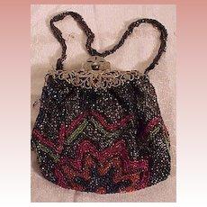 Pretty Beaded Bag