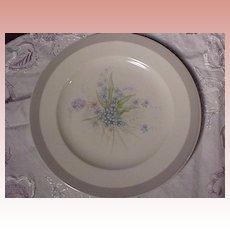 Five Floral Plates
