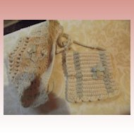 Knit Muff and Bonnet