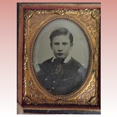 Daguerreotype of A Young Boy