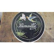 Boncilla Art Deco  Cold Cream Jar