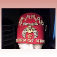 Shriner's Felt Hat