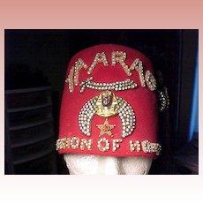 Shriner's Felt Hat