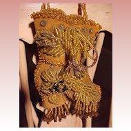 Victorian Beaded Pin Cushion................Shoe