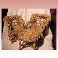 Vintage Chairs, Loveseat, For Dolls