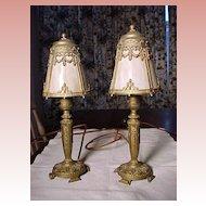 Pair of Vintage Lights