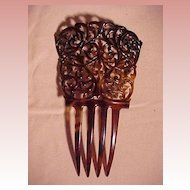 Large Celluloid Comb