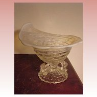 Unusual Opalescent Candy Dish
