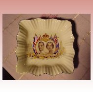 1939 Meakin English Coronation Plate