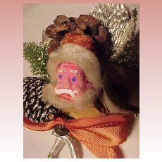 Vintage Santa Face