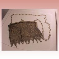 Hard To Find Deco Shoulder Mesh Bag
