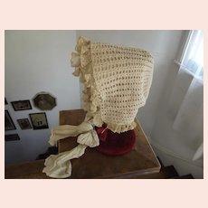 Early Reversible Baby Bonnet