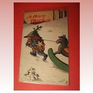 Tuck Christmas Postcard