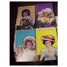 Four Volume Set of Portrait of Dolls - Red Tag Sale Item