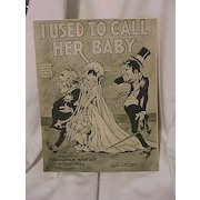 Three Old Pieces of Sheet Music