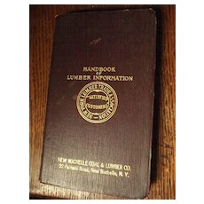 Handbook of Lumber Information