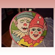 Art Deco Clown Noisemaker