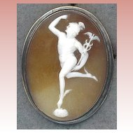 Fabulous Winged Mercury Cameo