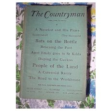 Lot of Four Old Countryman Magazines
