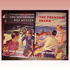 Set of Two John Blaine Boy's Books