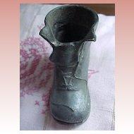 Little Metal Shoe Pincushion