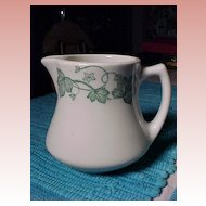 Wellsville China Ivy Pitcher