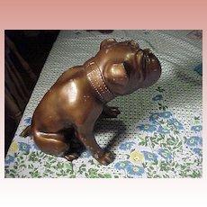 Large Metal Bulldog