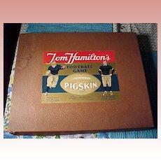 "Vintage Game ""Joe Hamilton's Pigskin"""